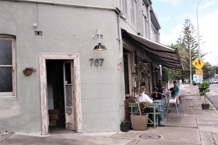 Cool cafes in Vaucluse, one of Sydney's most scenic and affluent suburbs.