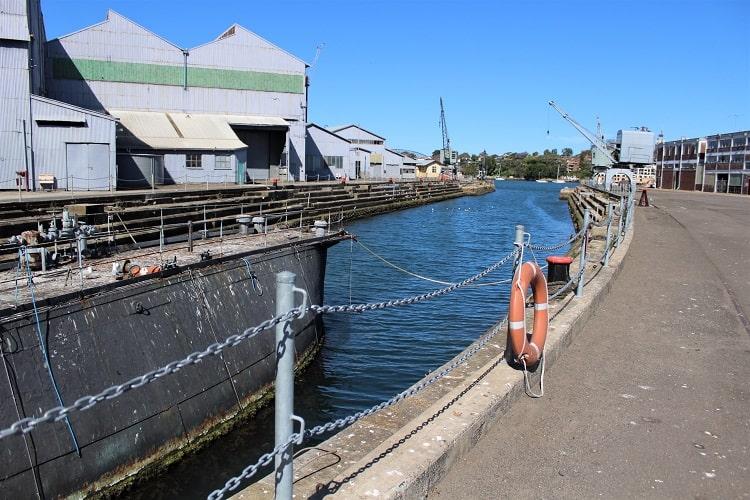 Fitzroy Dock, SYdney.
