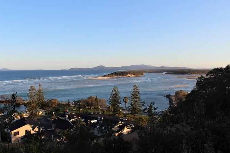 Lookout in Nambucca Heads, North Coast NSW, Australia.