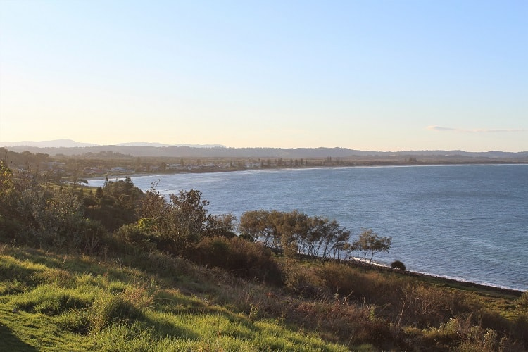 Pat Morton Lookout at Lennox Head in the Northern Rivers NSW Australia.