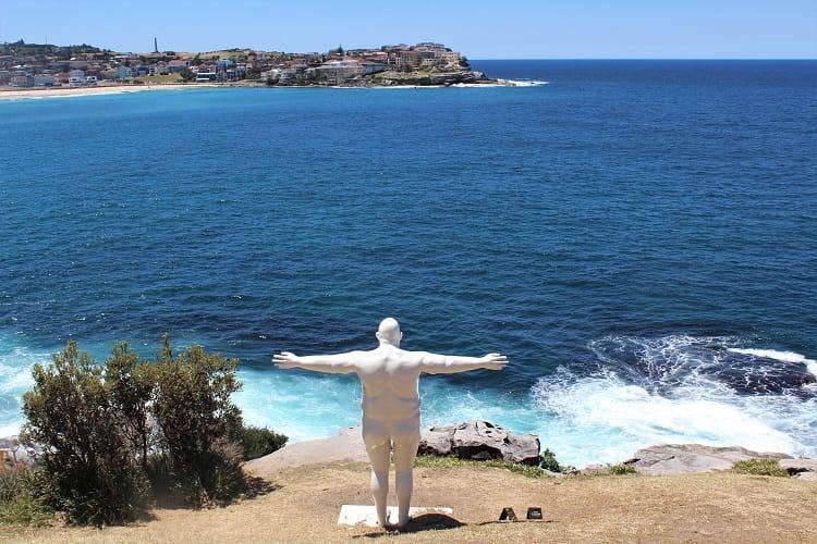 Sculptures by the Sea at Bondi Beach, Sydney.