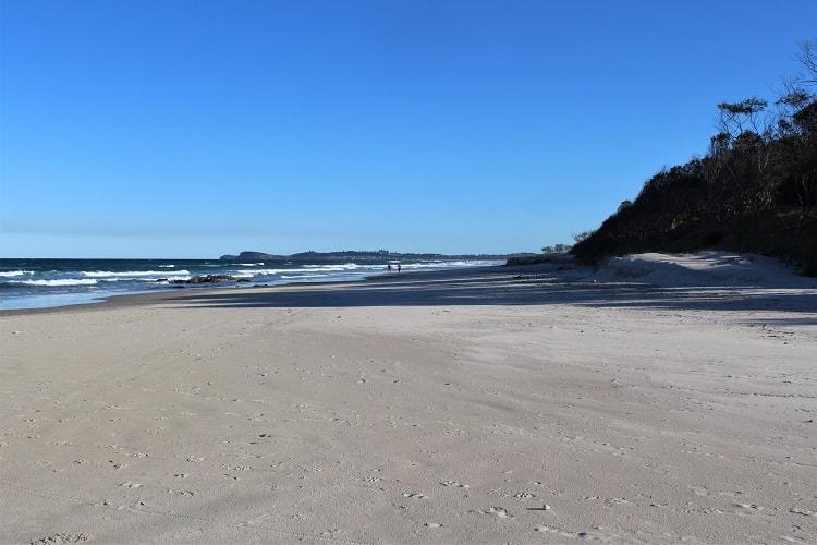 Seven Mile Beach at Broken Head, NSW.