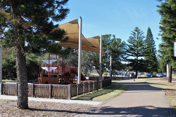 Children's playground in Cook Park, Monterey, Sydney.