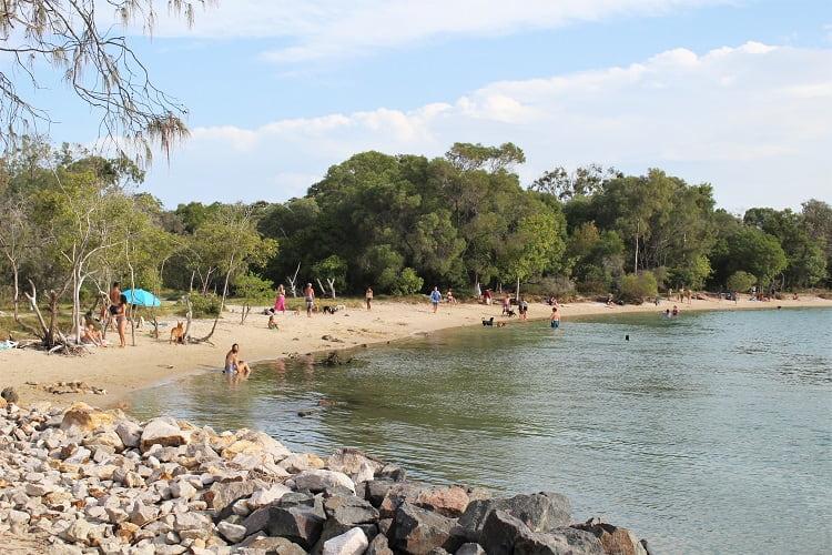 Dog Beach at Noosa Spit