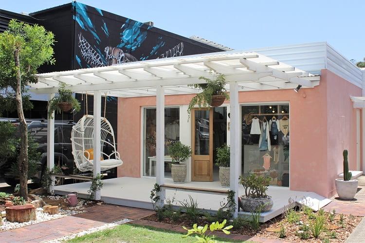 Beautiful shop on Lanyana Way, Noosa Heads Junction.