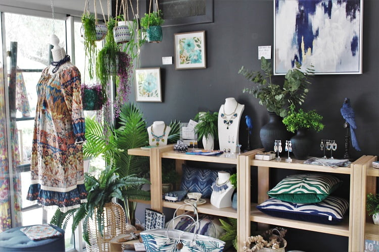A beautiful boutique in Noosaville.