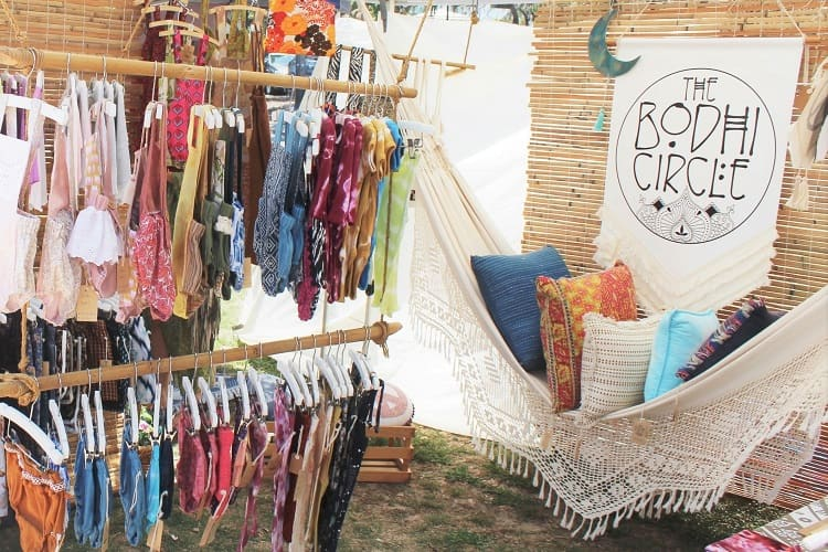 Beautiful children's clothing by The Bodhi Circle at Peregian Beach Markets